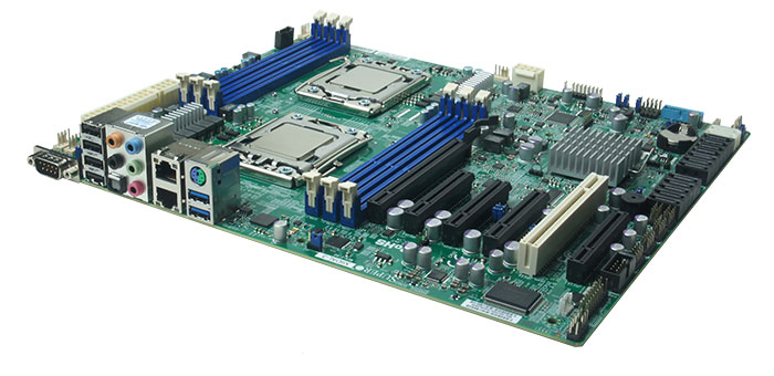 MPC-2900 dual cpu performance from a two processor server class motherboard