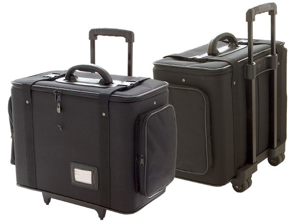A soft transport case is included with the MPC-2900 portablke workstation