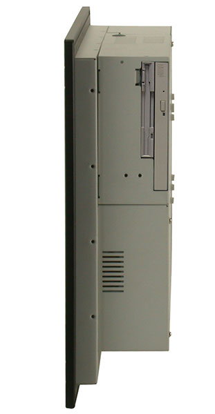 Panel PC PPC-120 with PCI expansion slot. Rugged panel mount and VESA mount touch screen computer.